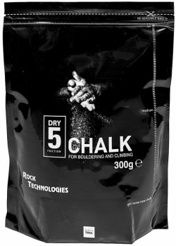 Rock Technologies Dry 5 Loose Climbing Chalk, 300g