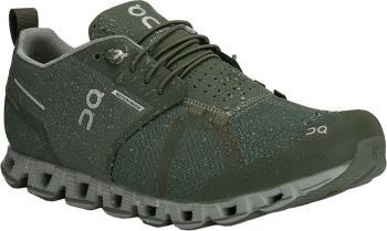 On Cloud Waterproof Men's Running Shoes, UK 7 Forest/Lunar