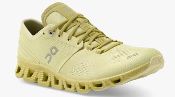 On Cloud X 2.0 Women's Running Shoes, UK 7.5 Glade/Citron