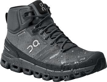 On Cloudrock Waterproof Men's Hiking Shoes, UK 8 Rock/Eclipse