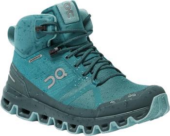 On Cloudrock Waterproof Women's Hiking Boots, UK 4 Storm/Wash