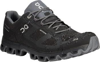 On Cloudventure Waterproof Mens Running Shoes, UK 7 Black/Graphite