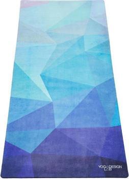 Yoga Design Lab Combo Kids' Yoga/Pilates Mat, 4.5mm Geo Blue