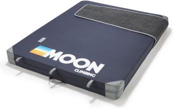 Moon Warrior Bouldering Crash Pad, 130x100x11cm Retro Stripe Indigo