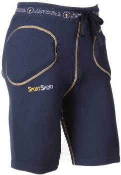 Forcefield Sport Level 2 Impact Shorts, L Blue