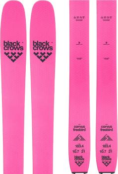 Black Crows Corvus Freebird Skis 183cm, Pink/Black, Ski Only
