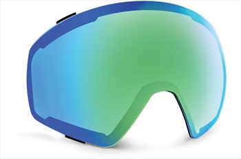 Von Zipper Capsule Ski/Snowboard Goggle Spare Lens, Wild Quasar Chrome