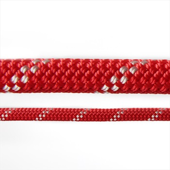 Edelweiss Flashlight II Rock Climbing Safety Rope 10mm X 70m Red
