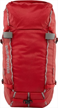 Patagonia Ascensionist Rock Climbing Backpack/Rucksack, 55L L Fire