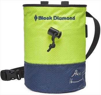 Black Diamond Freerider Rock Climbing Chalk Bag, M/L Verde