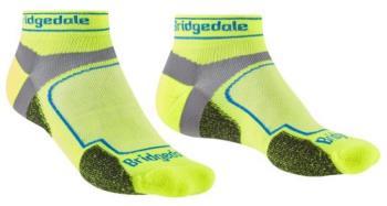Bridgedale Ultralight T2 Sport Low Coolmax Trail Run Socks L Yellow