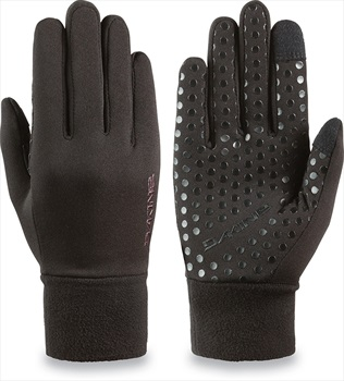 Dakine Storm Fleece Women's Snowboard/Ski Liner Gloves, XS Black