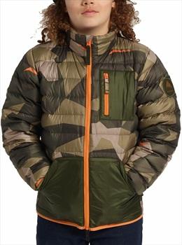 Burton Child Unisex Kids Evergreen Down Insulator Jacket, M Three Crowns