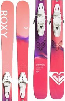 Roxy Womens Shima 90 Women's Skis 170cm, Peach Pink, Lithium 10, 2020