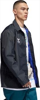 Adidas Civilian Ski/Snowboard Jacket, L Carbon