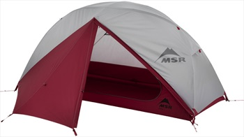 MSR Elixir 1 V2 Tent Solo Backpacking Shelter, 1 Man Grey