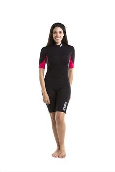 Jobe Sofia 3/2mm Ladies Shorty Wetsuit, Large Black Pink 2020
