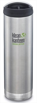 Klean Kanteen Insulated TKWide Water Bottle, Cafe Cap 592ml Brushed