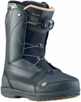 K2 Womens Sapera Boa Women's Snowboard Boots, Uk 5.5 Black 2020