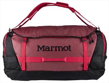 Marmot Long Hauler Expedition Duffel Travel Bag, 125L Brick/Black