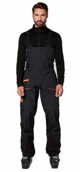 Helly Hansen Sogn Bib Shell Pants Ski/Snowboard Salopettes, L Black