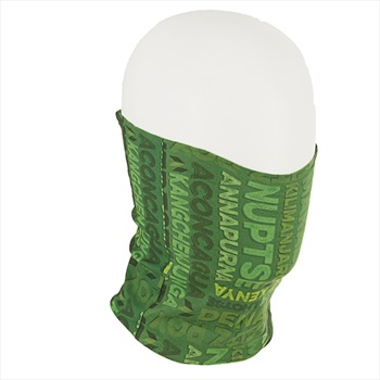 Ultimate Equipment Shield Stretch Face Mask & Neck Tube, OS Green