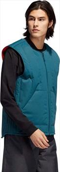 Adidas Workwear Vest Ski/Snowboard Gilet, M Viridian