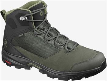 Salomon OUTward GTX Gore-Tex Hiking Boots, UK 7.5 Burnt Olive
