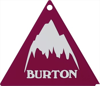Burton Tri Ski/Snowboard Wax Scraper Red