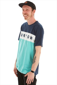 Burton Lowball Short Sleeve T Shirt, M Dress Blue / Buoy Blue
