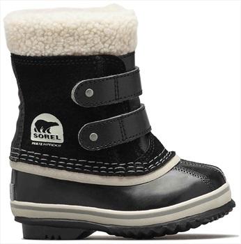 Sorel 1964 Pac Strap Kid's Snow Boots, UK Infant 3 Black