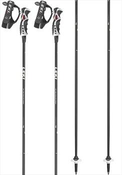 Leki Adult Unisex Carbon 11 S Ski Poles, 110cm Black