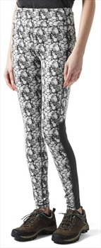 Craghoppers NosiLife Luna Tight Outdoor Trousers: UK 8, Charcoal Print