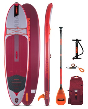 """Jobe Yarra All-Round ISUP Paddleboard Package, 10'6"""" Red 2021"""