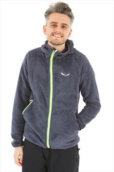 Salewa Puez Warm Polarlite Men's Full Zip Fleece Hoodie, XL Ombre Blue