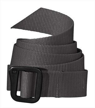 Patagonia Friction Adjustable Belt, OS Forge Grey