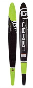 "O'Brien Siege Slalom Water Ski, 69"" W/ Z9 Bindings Green 2020"