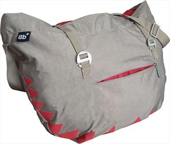 8b+ Hank Rock Climbing Rope Bag, One Size Grey Effect