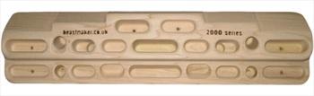 Beastmaker 2000 Series Wooden Training Board/Hangboard 58cm Brown