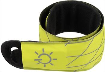 Nite Ize SlapLit LED Slap Wrap High Visibility Light Up Armband Yellow