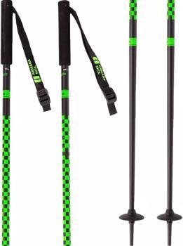 Armada Adult Unisex Triad Pair Of Ski Poles, 115cm Green