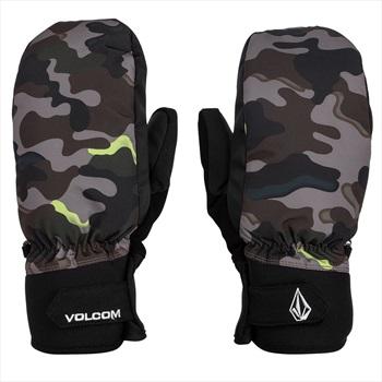 Volcom VCO Nyle Ski/Snowboard Mitts, M Army