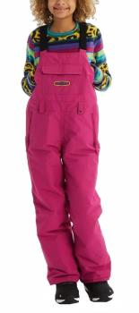 Burton Child Unisex Skylar Bib Kid's Ski/Snowboard Pants, L Fuchsia