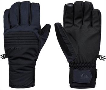 Quiksilver Hill Gore-Tex Ski/Snowboard Gloves, S Black