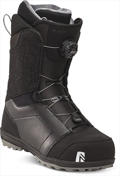 Nidecker Mens Aero Boa Coiler Snowboard Boots, Uk 7 Black 2021