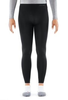 Falke Long Warm Tights Base Layer Bottoms, M Black