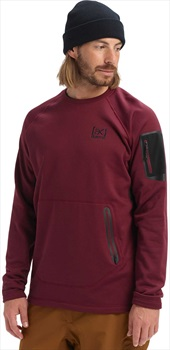 Burton [ak] Piston Crew Thermal Fleece Pullover, L Port Royal