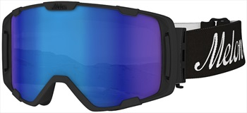 Melon Parker Blue Chrome Snowboard/Ski Goggle, M/L Black