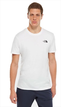 The North Face Simple Dome Men's Short Sleeve T-Shirt, XL TNF White