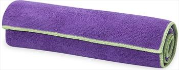 Gaiam Yoga/Pilates Hand Towel, Grape/Celery